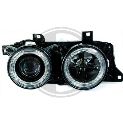 -FARURI ANGEL EYES BMW E34 FUNDAL BLACK -COD FKFSBM9003
