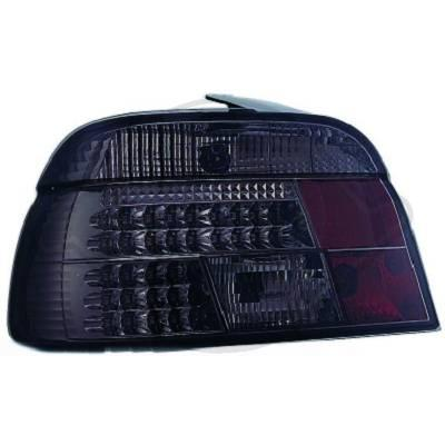 -STOPURI CU LED BMW E39 FUNDAL BLACK -COD 1223795