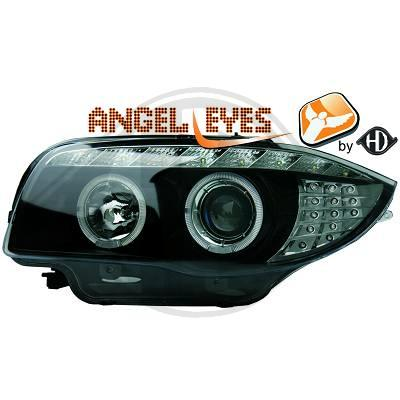 -FARURI ANGEL EYES BMW E87 FUNDAL BLACK -COD BM80980