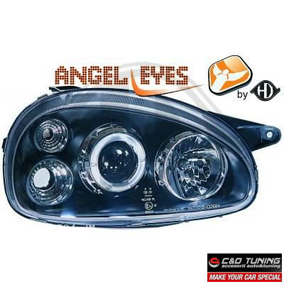 -FARURI ANGEL EYES OPEL CORSA B FUNDAL BLACK -COD 1812380