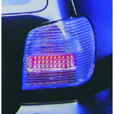-STOPURI CU LED VW POLO FUNDAL BLUE -COD 2204093