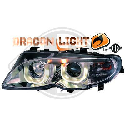 -FARURI ANGEL EYES BMW E46 FUNDAL CROM(3D) -COD 1215485