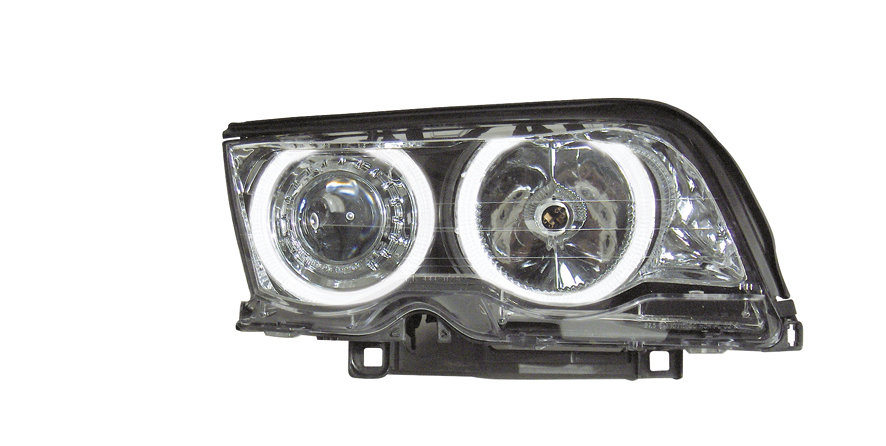 -FARURI ANGEL EYES BMW E46 FUNDAL CROM -COD FKFSXBM125