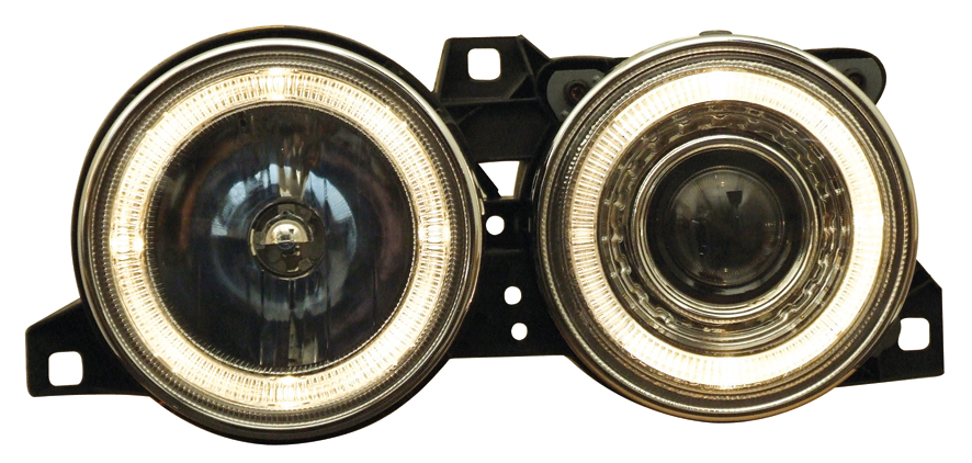 -FARURI ANGEL EYES BMW E34 FUNDAL CROM -COD FKFSBM055