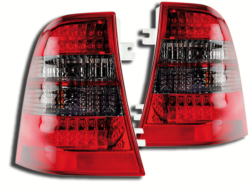 -STOPURI CU LED M-KLASS FUNDAL RED/BLACK -COD FKRLXLDB415