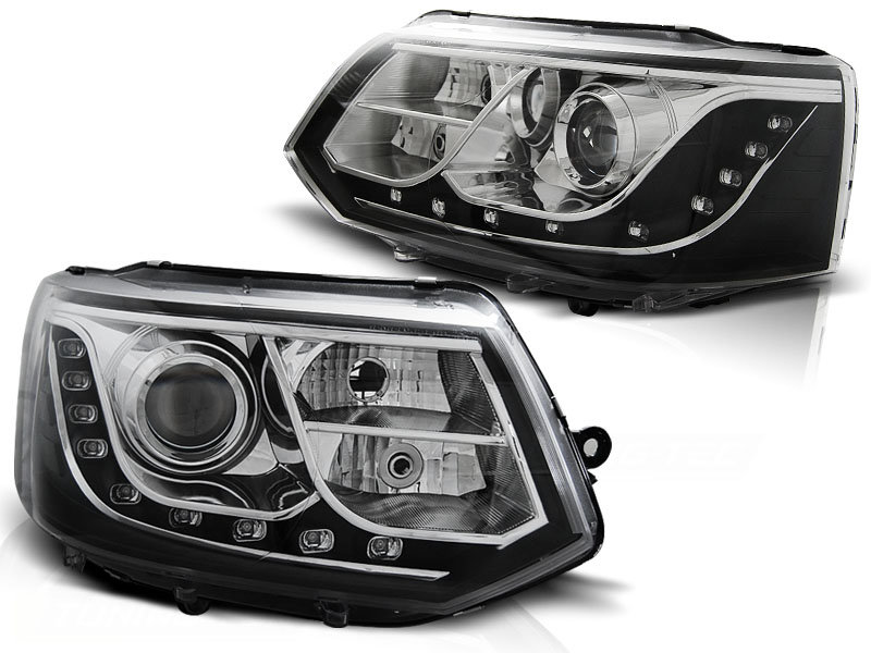 -FARURI DAYLIGHT VW MULTIVAN/CARAVELLE FUNDAL BLACK -COD VW0012