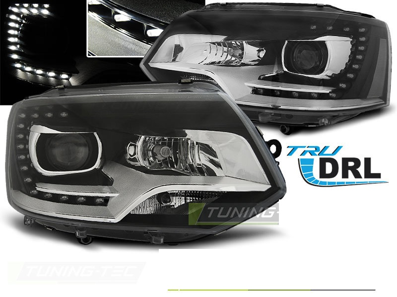 -FARURI DAYLIGHT VW MULTIVAN/CARAVELLE FUNDAL BLACK -COD VW0014