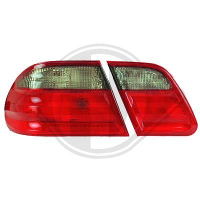 -STOPURI CLARE MERCEDES E-KLASS FUNDAL RED/BLACK -COD FKRL041015