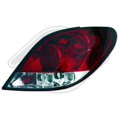 -STOPURI CLARE PEUGEOT 207 FUNDAL RED CRISTAL -COD 4226295