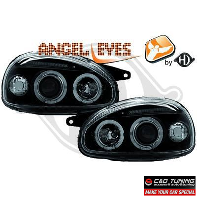 -FARURI ANGEL EYES OPEL CORSA B FUNDAL BLACK -COD 1812385
