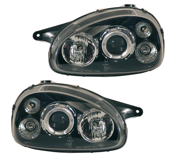 -FARURI ANGEL EYES OPEL CORSA B FUNDAL BLACK -COD FKFS042011