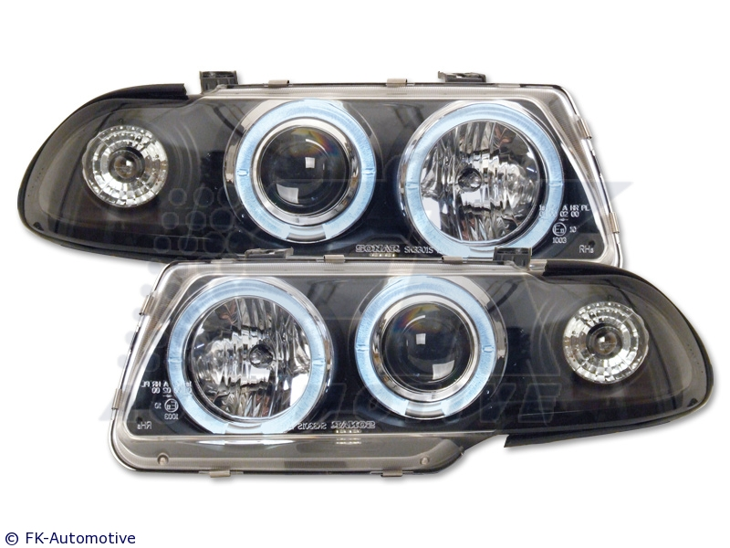 -FARURI ANGEL EYES OPEL ASTRA F FUNDAL BLACK -COD FKFS042035-1