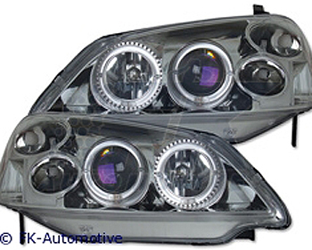-FARURI ANGEL EYES HONDA CIVIC FUNDAL BLACK - FKFS052031