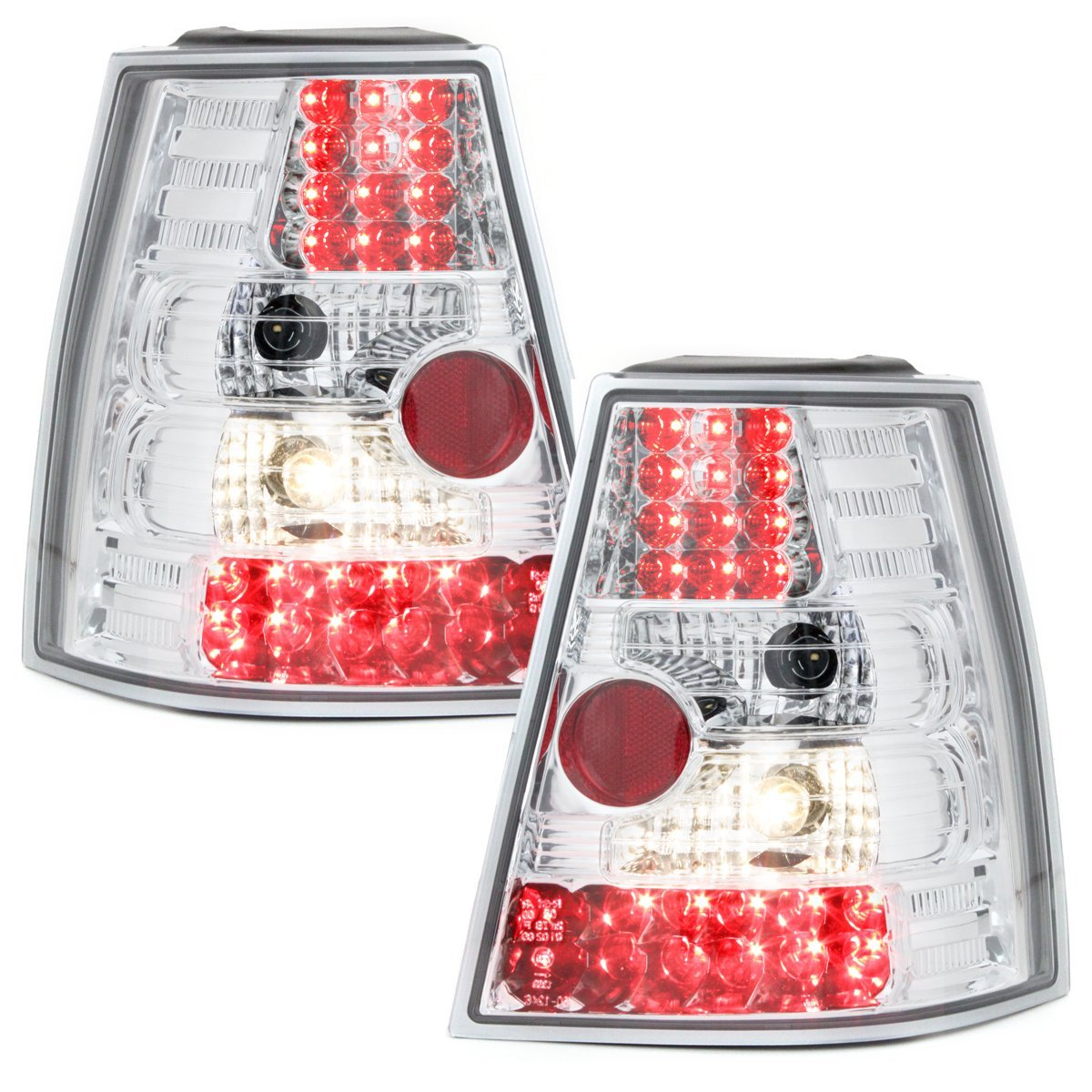 -STOPURI LED VW GOLF 4/BORA VARIANT FUNDAL CROM -COD RV31LLC