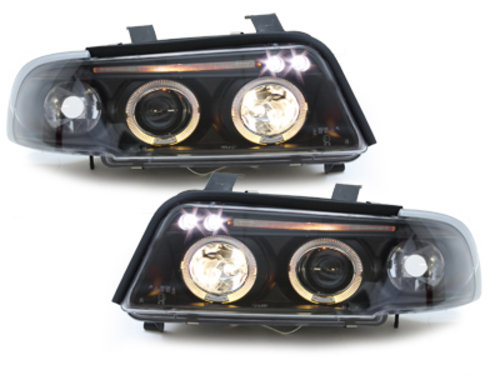 -FARURI ANGEL EYES AUDI A4 B5 FUNDAL BLACK -COD SWA02AB