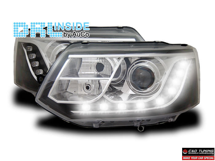 -FARURI DAYLIGHT VW MULTIVAN/CARAVELLE FUNDAL BLACK(R87) -COD VW1000155